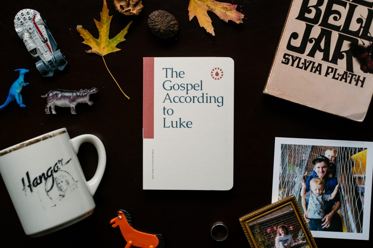 Professional Photography for Manuscripts Persona Flat Lay Luke