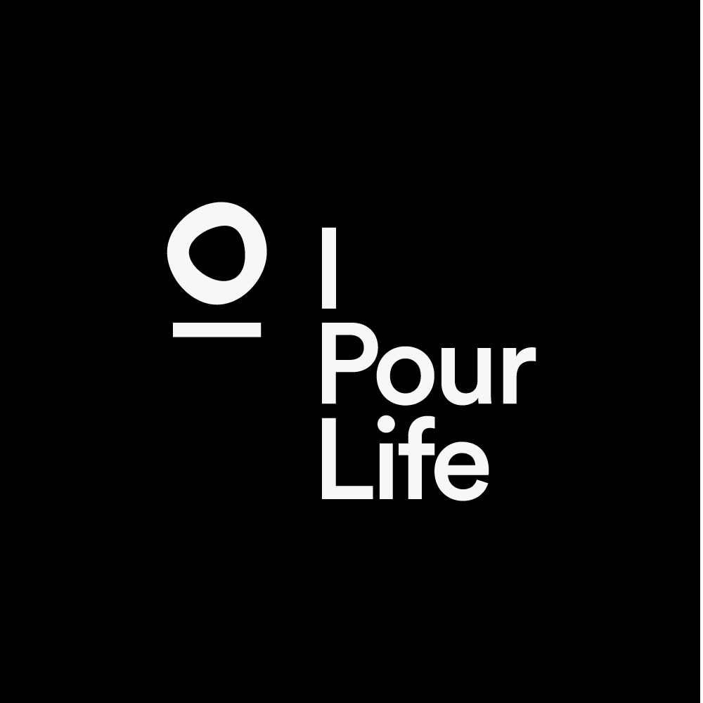 Logo Design Vertical Lock up for I Pour Life