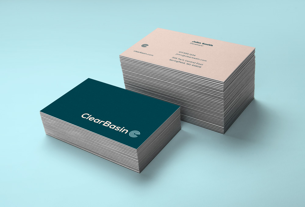 ClearBasin Business Cards